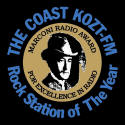 THE COAST is a five-time Top 5 finalist for Marconi Awards, and Rock Station of the Year 2002-3 National Association of Broadcasters (NAB) Marconi Awards.