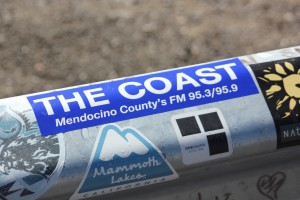 The Coast Sticker