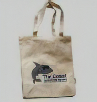 Displaying The Coast Tote Bag