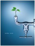Displaying Water Saving Tips and Other Information
