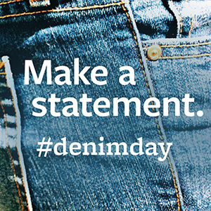 Denim Day is April 24, 2019 - Wear Denim