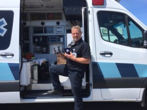 Roast From The Coast for 1st Responders = Thank You!  Mendocino Coast District Hospital Ambulance Services